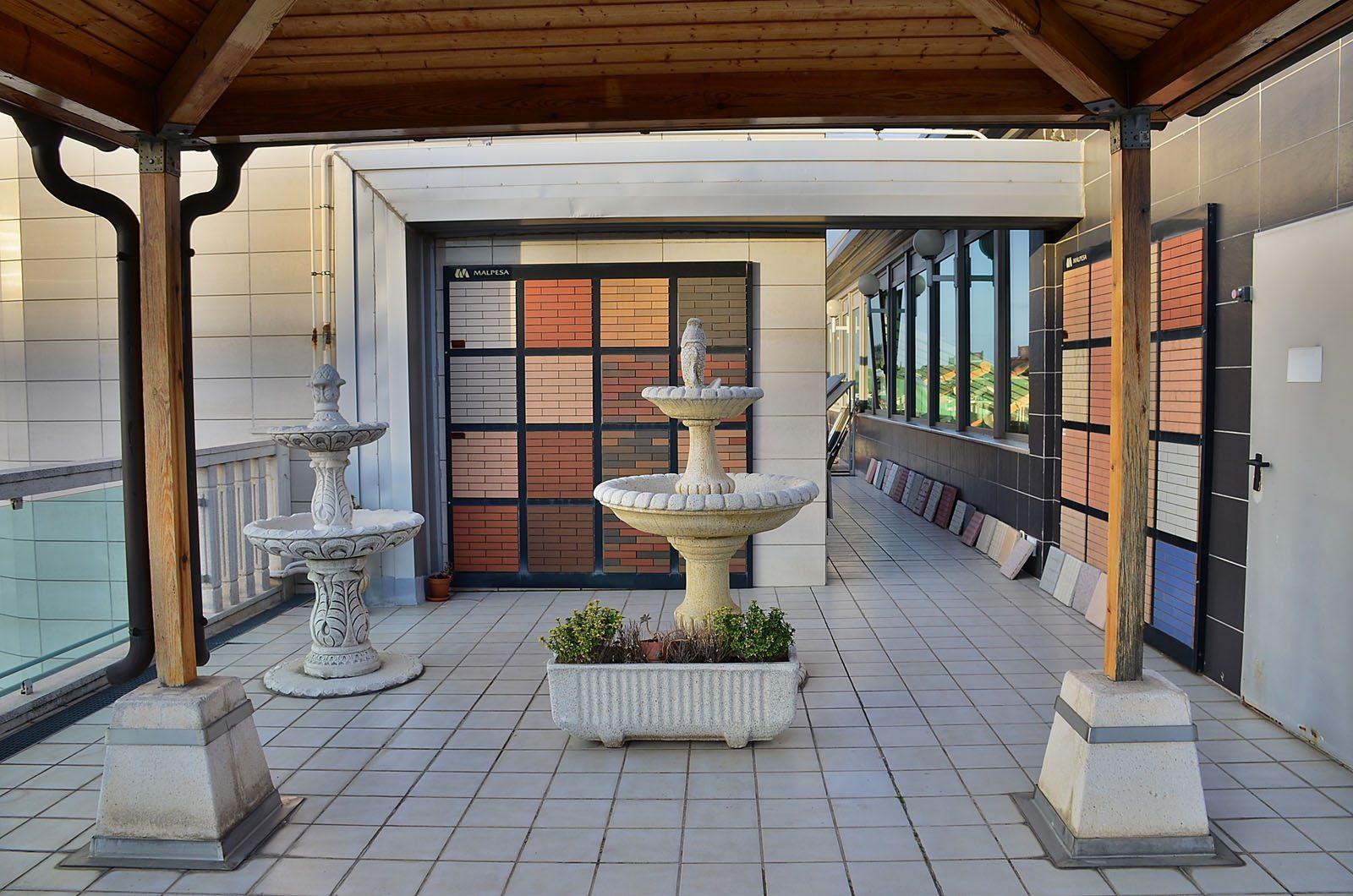 Proveedores para empresas y particulares de materiales para exteriores