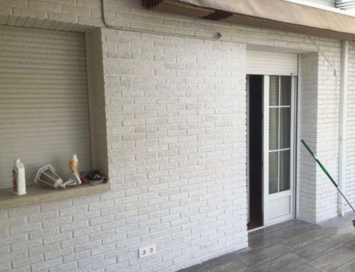 Reforma fachada y patio exterior