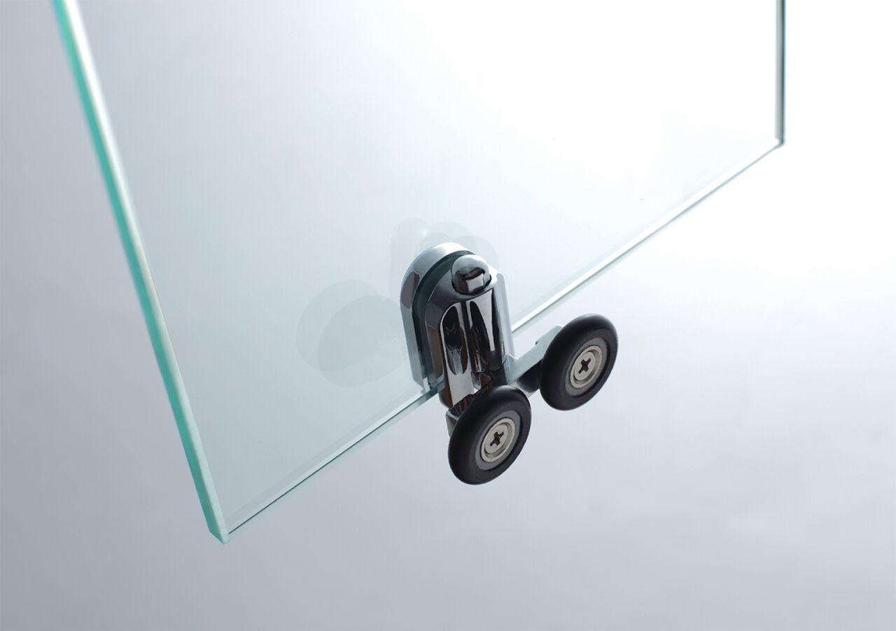 Mampara prestige titan 90x90 semicircular transparente - Ceramicas sanchez ...