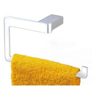 Toallero metálico para atornillar. Toallero estilo metálico de pared.