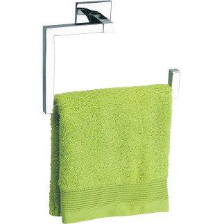 Toallero para baño adhesivo con forma de aro. Accesorios para baño moderno en Valladolid.