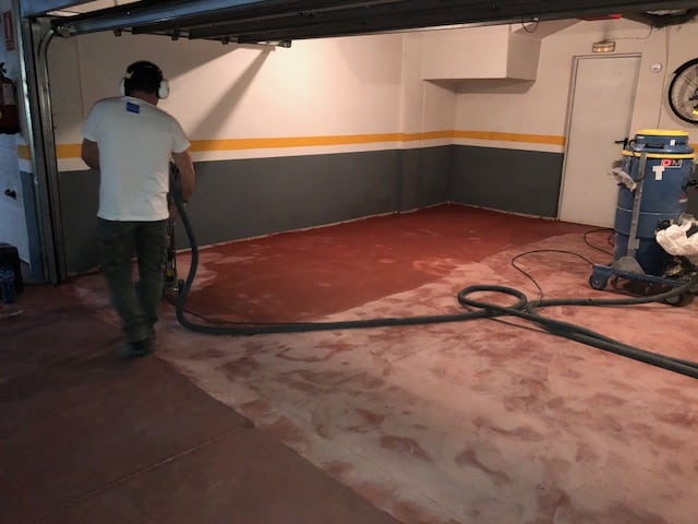 Productos y resinas para pavimentos de garajes