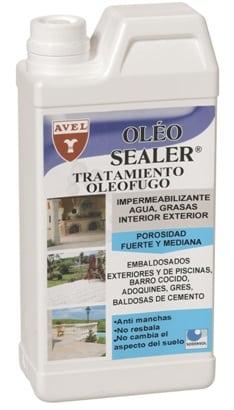 Tratamiento oleofugo. Producto para impermeabilidad superficies.