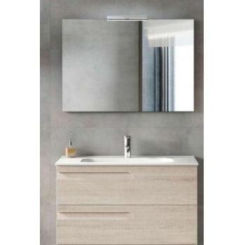 Mobiliario para baño. Espejos para baño. Apliques LED. Lavabo de porcelana. Armario para baño.