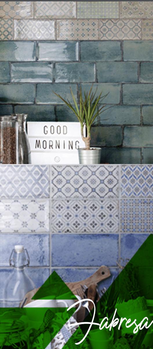 Mosaicos de estilo moderno. Mosaícos marroquíes. Mosaicos con patrones.