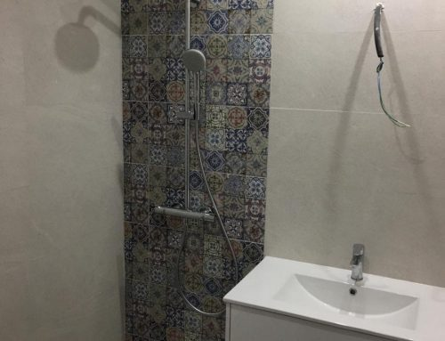 Baño rectificado con estilo Arabesco