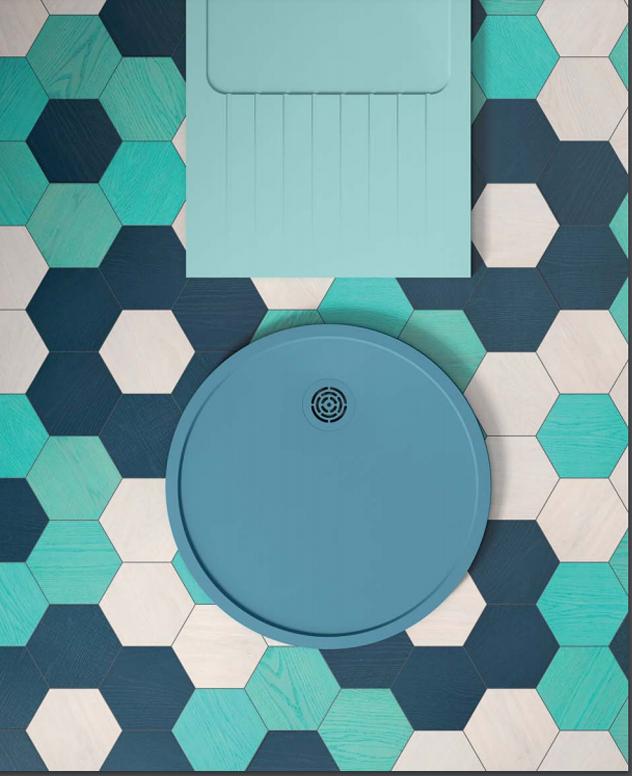 platos de ducha circulares